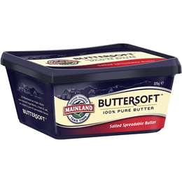 Mainland Buttersoft Pure Salted Butter 375g