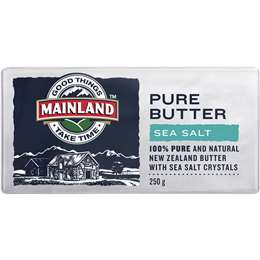 Mainland Pure Butter Sea Salt 250g
