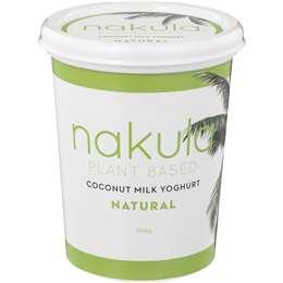 Nakula Coconut Yoghurt Natural 500g
