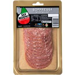 San Marino Sopressa Mild Salami 100g