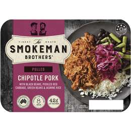 The Smokeman Brothers Pulled Chipotle Pork 400g