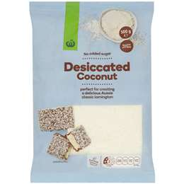 Woolworths Coconut Fine Desiccated 500g