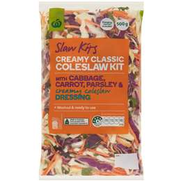 Woolworths Family Slaw 500g