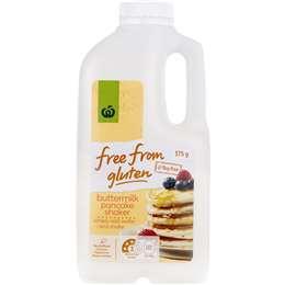 Woolworths Free From Gluten Buttermilk Pancake Mix 375g