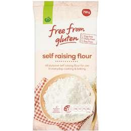 Woolworths Free From Gluten Self Raising Flour 750g