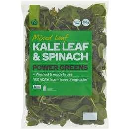 Woolworths Spinach & Kale 300g